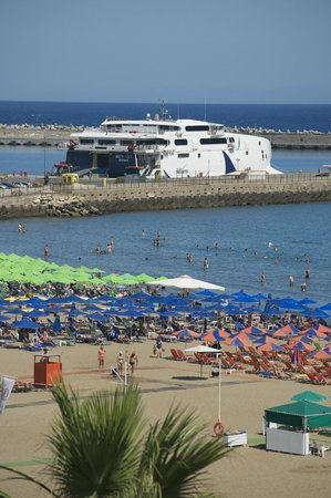 Aquila Porto Rethymno: Balcony view