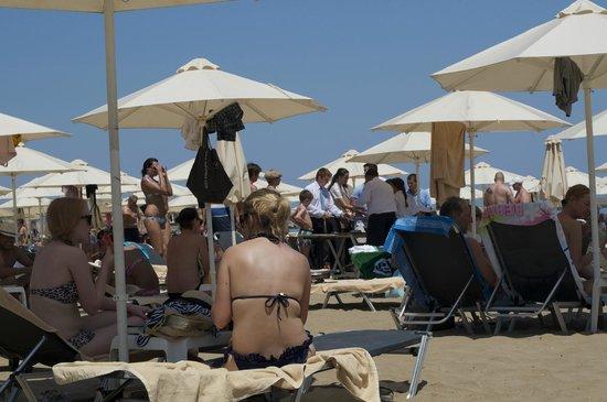 Aquila Porto Rethymno: The local beach