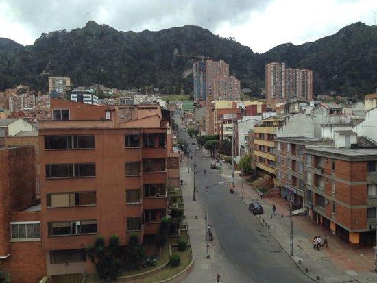 Mercure Bogota BH Zona Financiera: View from our room