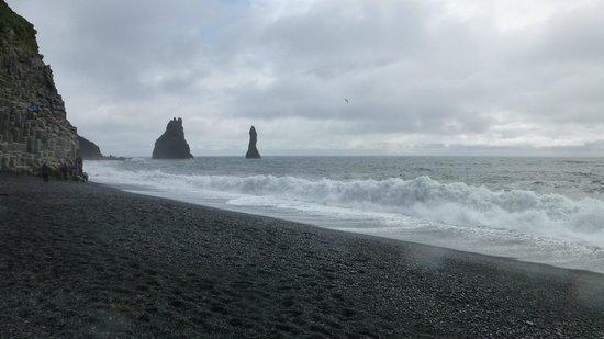 Reynisdrangar: The sea stacks