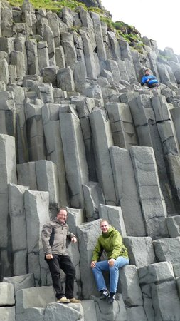 Reynisdrangar: The basalt columns of Reynisfjara