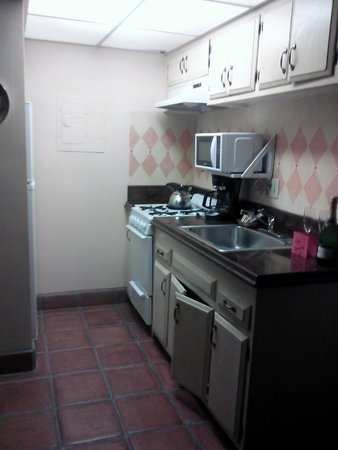 Hotel Pepper Tree: Compact Kitchen