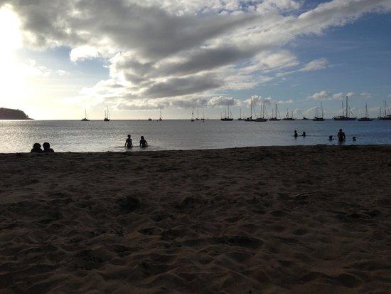 Hanalei Beach: Sunset