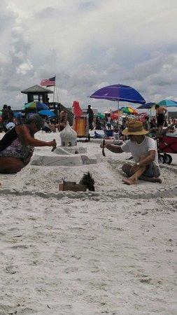 Siesta Beach: Great sans for sand castles