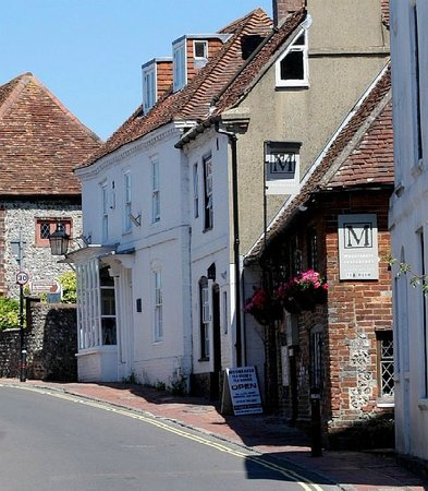 Moonrakers: Moonraker in High Street, Alfriston ~  from the south