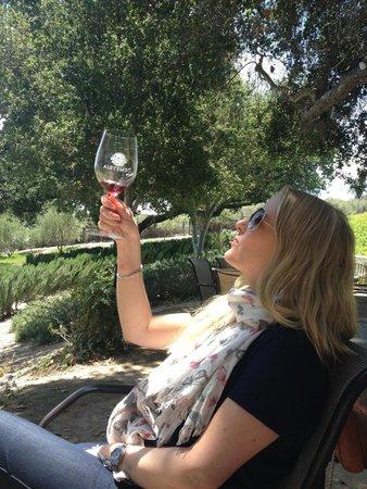 Demetria Estate Winery : Wine bluff