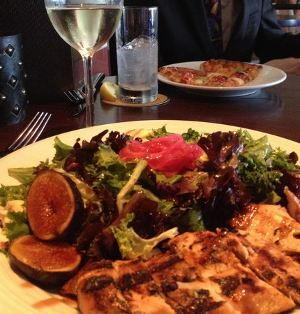 Samoset Resort On The Ocean: pear and fig salad