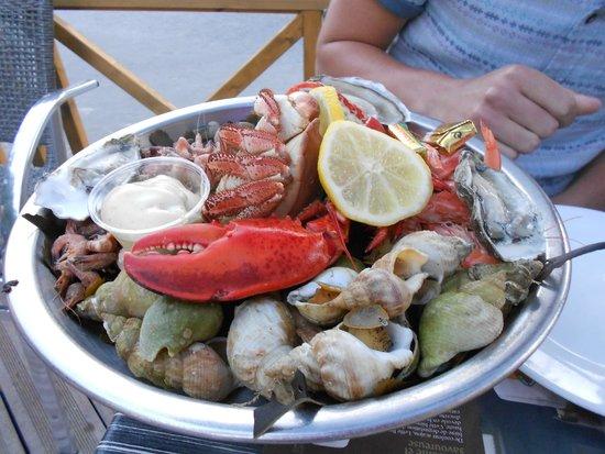 Le Saint Pierre : Fruits de Mer