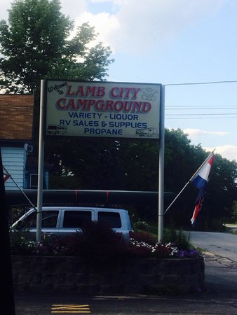 Phillipston, MA: Lamb City Campground