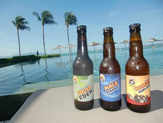 Hansar Samui Resort: great beer, brewage.at goes hansar / thailand