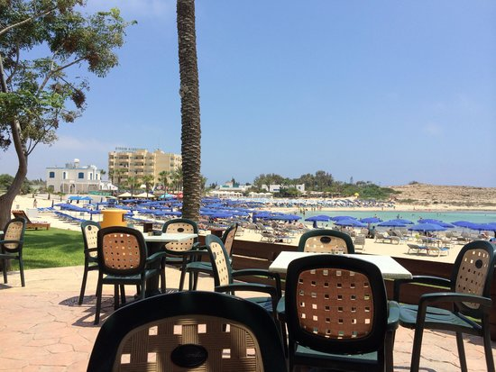 Pavlo Napa Beach Hotel: breakfast view