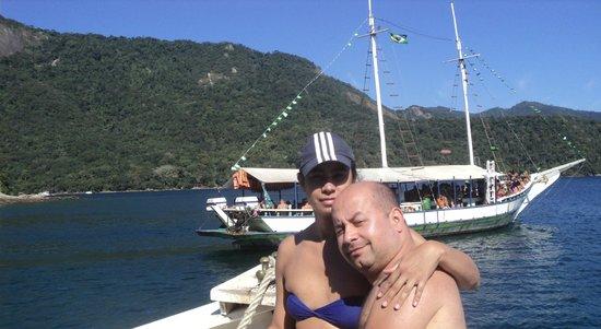 Pousada Jamanta: Passeio de barco