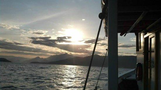 Pousada Jamanta: Volta do passeio de barco