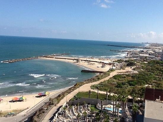 Hilton Tel Aviv: View from room