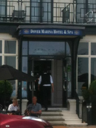 BEST WESTERN PLUS Dover Marina Hotel & Spa: front