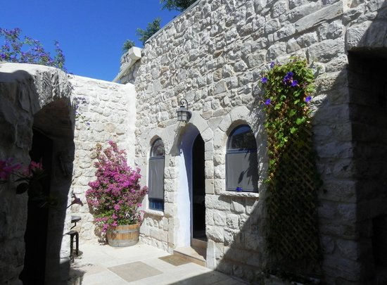 Artist Quarter Guesthouse B&B: The private courtyard