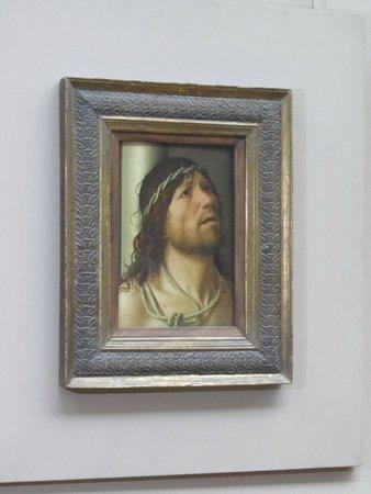 Musee du Louvre: Antonello de Messina Le Christ à la colonne 1476-1478