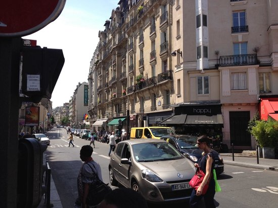 Quality Hotel Abaca Messidor Paris : Hôtel vue de Vaugirard-Convention