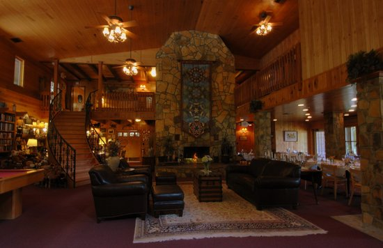Blue Waters Mountain Lodge : Great Hall of the Lodge