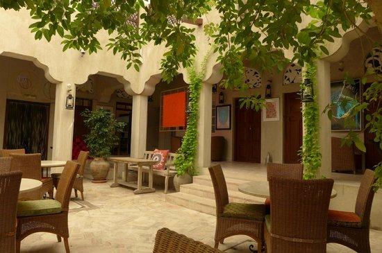 XVA Art Hotel: courtyard