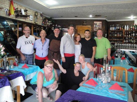 El Nublo: A family visit