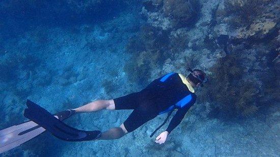 Spirit Snorkeling: Deep enough to freedrive