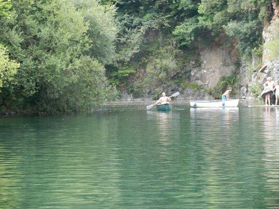 Cornish Tipi Holidays: lake