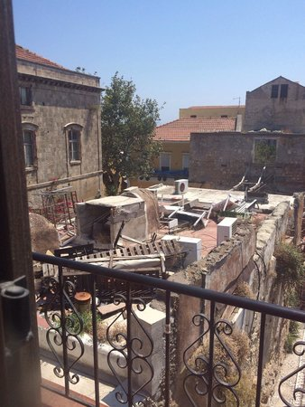 Domus Rodos Hotel: View from our balcony