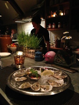 Primo: $1.00 Oysters in the Lounge Upstairs
