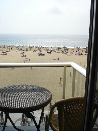 Adega Oceano : View from the balcony at  the end of our hallway