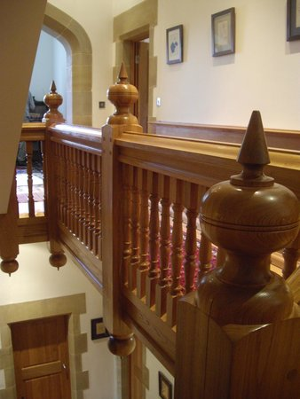 Hellifield Peel Castle: Awesome staircase!
