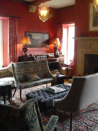 Hellifield Peel Castle: Sitting room
