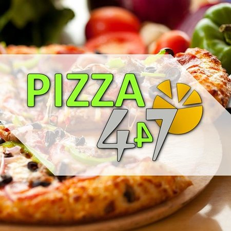 logo pizza 447 mostaganem