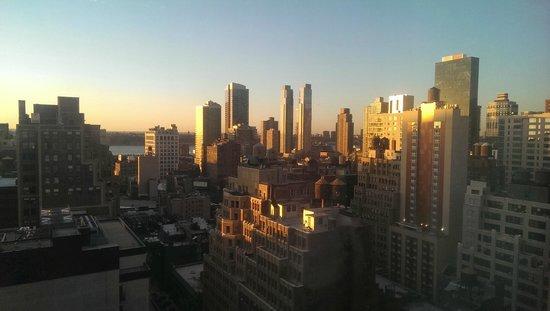The New Yorker A Wyndham Hotel: si vous avez la chance d'avoir de la vue depuis la chambre...