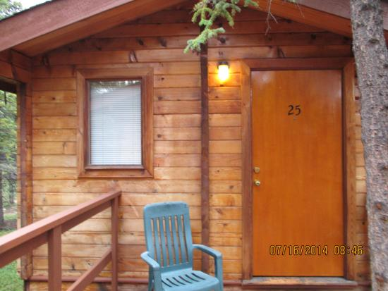 Denali Cabins: photo of our cabin!!!