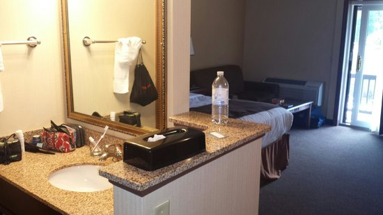 Black Swan Inn Berkshires, an Ascend Collection Hotel : Sink and dressing area