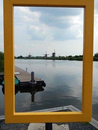 Mühlenanlagen in Kinderdijk-Elshout: Picture Spot