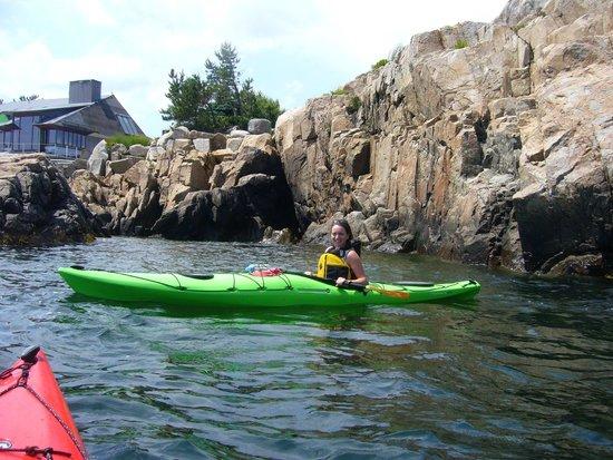 Northshore Kayak: Scenic coastline, Rockport Ma.