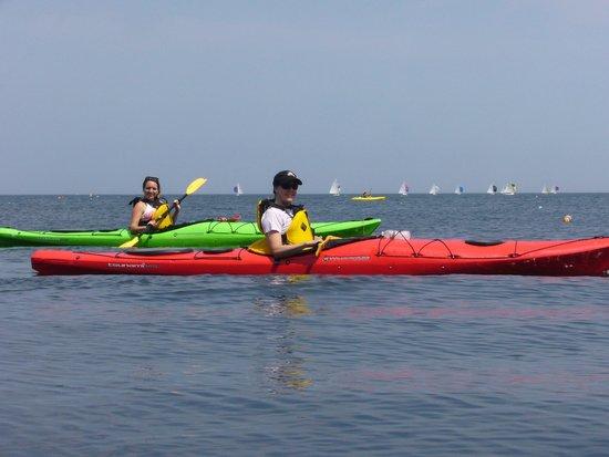 Northshore Kayak: Heading for Straightsmouth Island