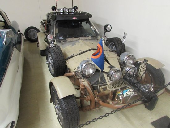 Old Montana Prison Complex : Car said to be in one of the Mad Max movies