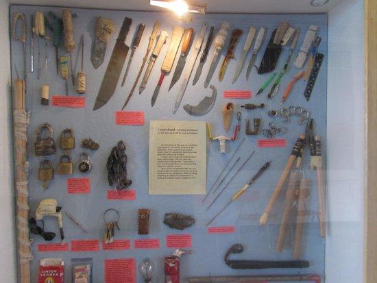 Old Montana Prison Complex : Prison weapons