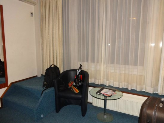 Hampshire Hotel - Beethoven Amsterdam: Ventanal al balcón