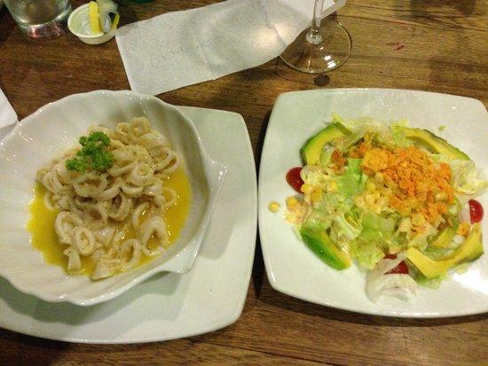 Gourmet Shop Assho: prato de lula estava intragável