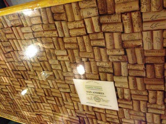 Gourmet Shop Assho: detalhe decoracao mesas externas