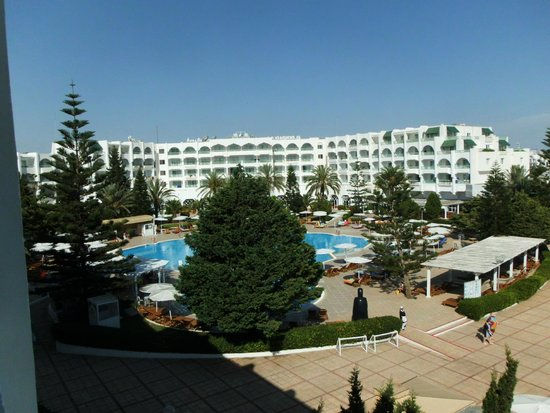 El Mouradi Palace : view from room 827