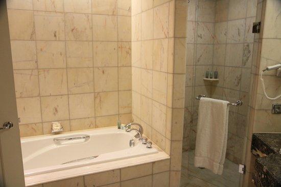 Mandarin Oriental, München: Shower and bath