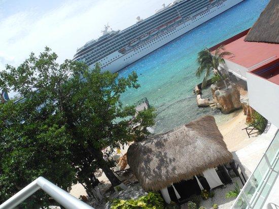 El Cid La Ceiba Beach Hotel : view from room