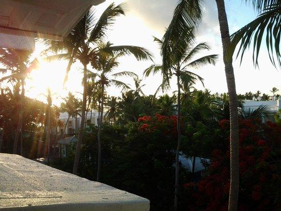 Hotel Riu Palace Macao: vroeg in de morgen met de zon