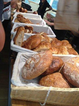 Bakeriet i Lom: bread
