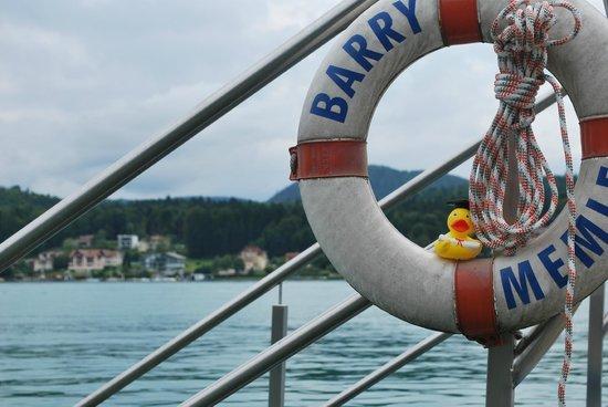 Hotel Barry Memle Lakeside Resort: Vielen Dank für die schöne Zeit!